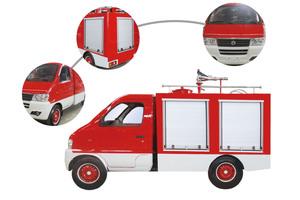 DFBDXF1.5/2.0型消防车